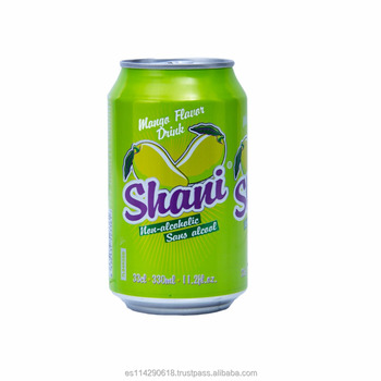 Shani Mango Carbonated Fruit Drink 4x6x33cl