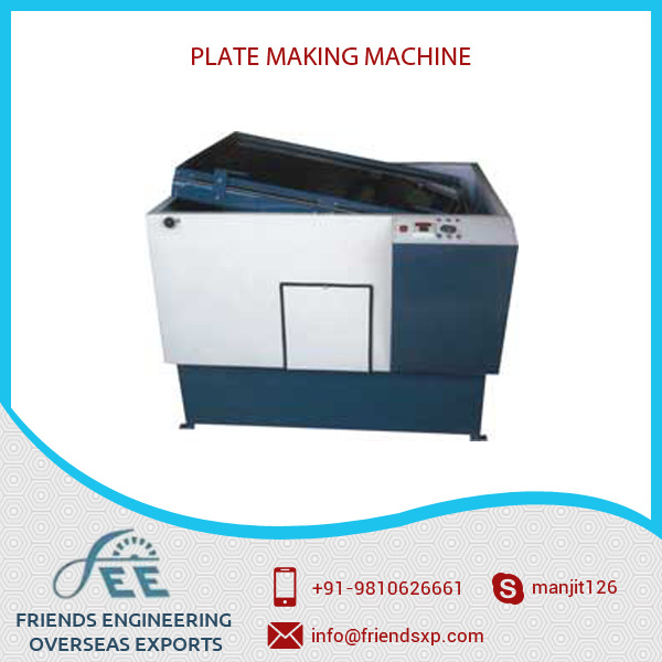 Automatic Plate Making Machine Available with Various Features