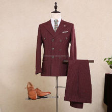 2017 Cheap High Quality Suits Custom Made Wool Business Fashion Man Suit