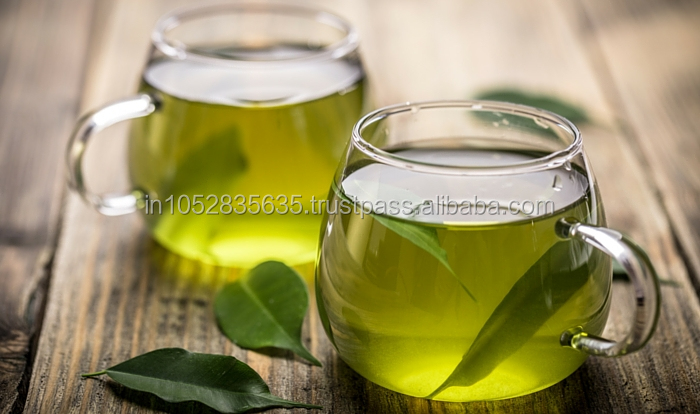 Pure Green Tea For Natural Antioxidant