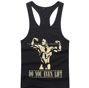 Custom design low cut Tank top.
