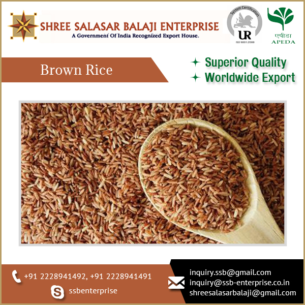 Long Brown Rice In Wholesale Without Polish For Diabetics