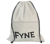 Promotional Natural Jute Drawstring Bag/Jute Pouch