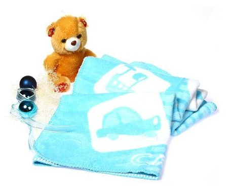 Car Figured Vibrant Color Durable Blue %100 Bamboo Ultra Soft High Quality Low Price Blanket For Babies