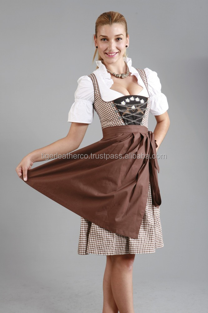 Tiger Leather Company / 2015 new design dirndl dress