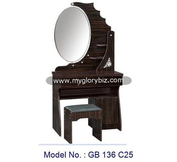 Unique Elegant Designs Dresser Furniture With Mirror And Stool Modern Dressing Table For Bedroom