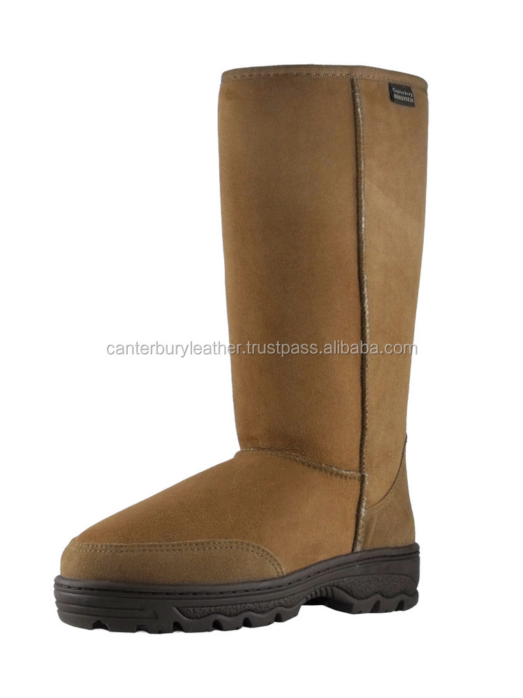 Supertread Tall sheepskin boot
