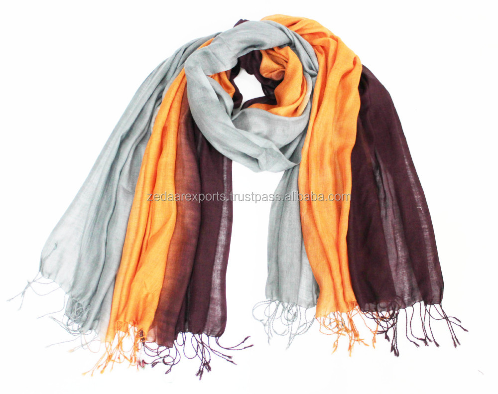 ombre scarves