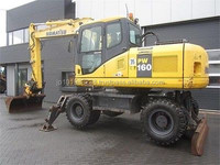 USED MACHINERIES - KOMATSU PW160-7 WHEEL EXCAVATOR (5798)