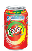 Soft drink 330ml Cola/Carbonated Drinks