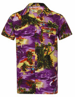 Hawaiian Shirt,100% Polyester Hawaiian Shirts