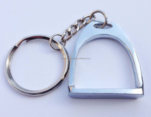 Horse Riding / Racing Stirrups Keychain - Horse Riding Gift / Promotion Keychain - Metal Keychain of Stirrups
