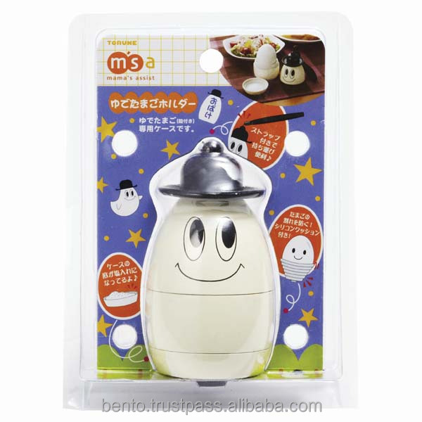 Popular and Japan designed plastic egg case with salt pocket, cute ghost designed by torune at the best prices