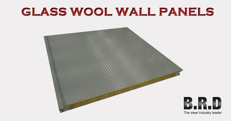 Heat Resistant Panels High Density Glass Wool Board For
