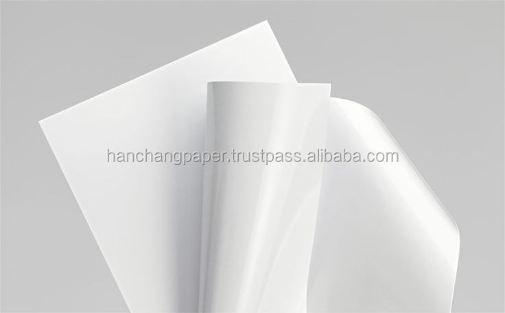 Cast coated paper board (CCP)