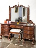 Chippendale make-up/dressing table