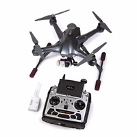 Walkera Scout X4 Ready to Fly FPV RC Quadcopter with Ground Station, 3 Axis Brushless Gimbal, iLook+ Action Camera and Devo F12E