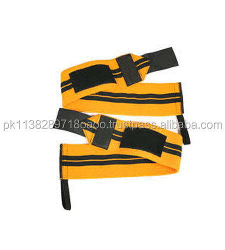 Custom made Power lifting wrist wrap High Quality With Thumb Loop