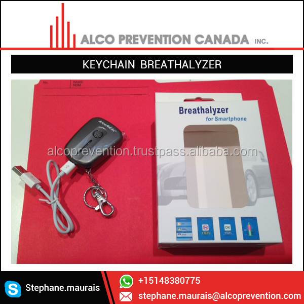 Latest Range of Best Selling Keychain Breathalyzer from Canada