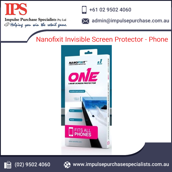 Nanofixit Invisible Phone/ Mobile Screen Protector