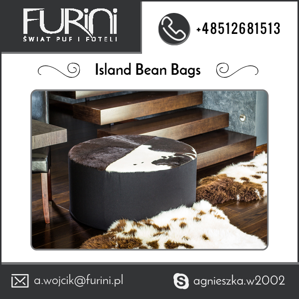 Stylish Comfortable Island Bean Bag for Furniture