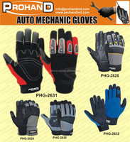 Amara Leather Mechanic's Work Gloves touch screen washable safety