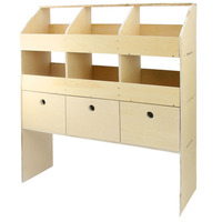 Van Racking System Ply Shelving Unit Birch Plywood Rack Tool Storage Shelves
