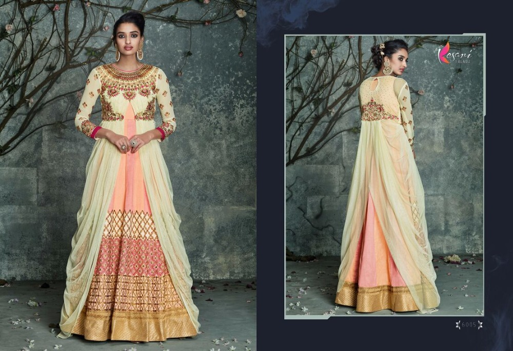 Ethnic Bollywood Designer Partywear Long Salwar Kameez Indian Pakistani Anarkali Long Suit Dress