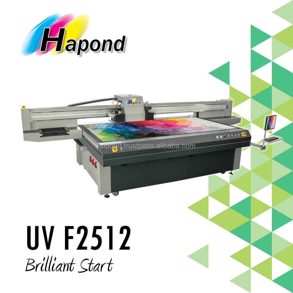 UV Flatbed Inkjet Printer - UV F2512