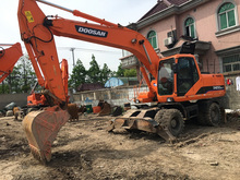 80% new used doosan DH210W-7 excavator origin Japan for sale
