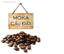 Viet Nam High quality Moka roasted coffee beans