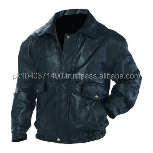 Men's PU Leather Motorcycle, Bomber Jacket, Black,`/Cow Feel PU Leather Jacket/Faux Jacket