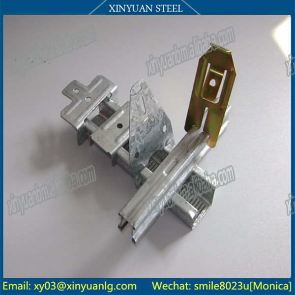 Galvanized Keel Accessories for Australian style Adjust Furring Channel Clip