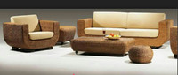 Rattan Wicker Patio Indoor Outdoor Sofa U Shape