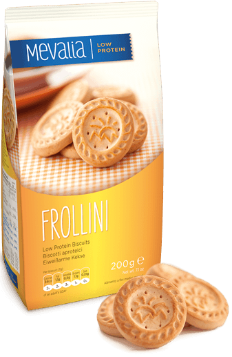 Mevalia Shortbread Biscuits 200g without proteins