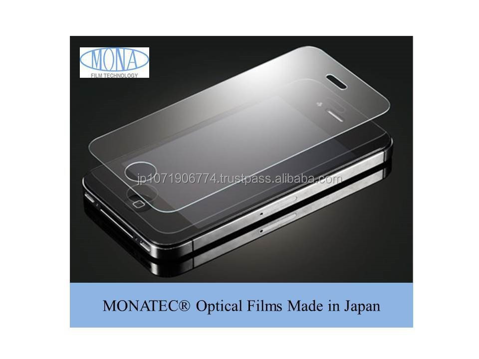 MONATEC High quality Optical Film coating Made in Japan