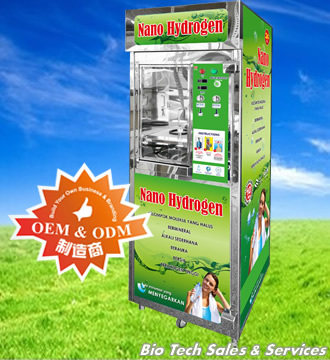NANO ALKALINE Drinking Water Vending Machine (NA-VM-SS-1128-C)