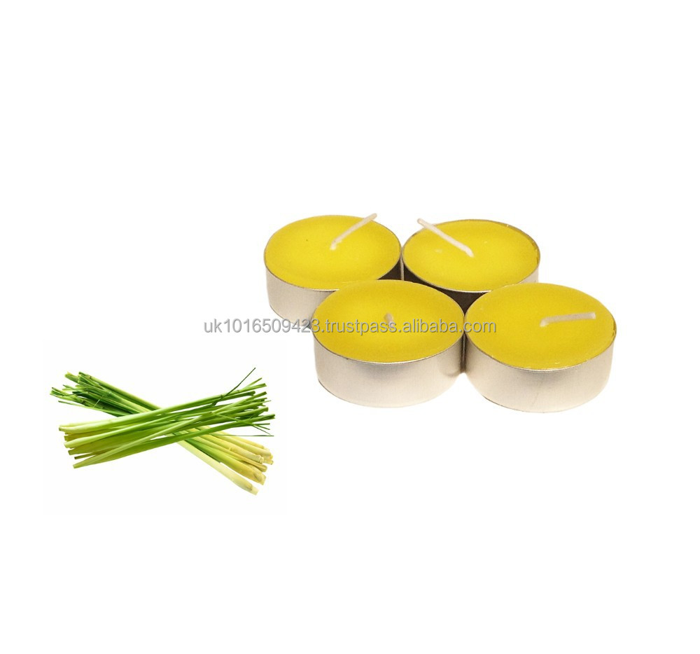 Citronella Scented Tealights Pack of 10 Tealight Candles