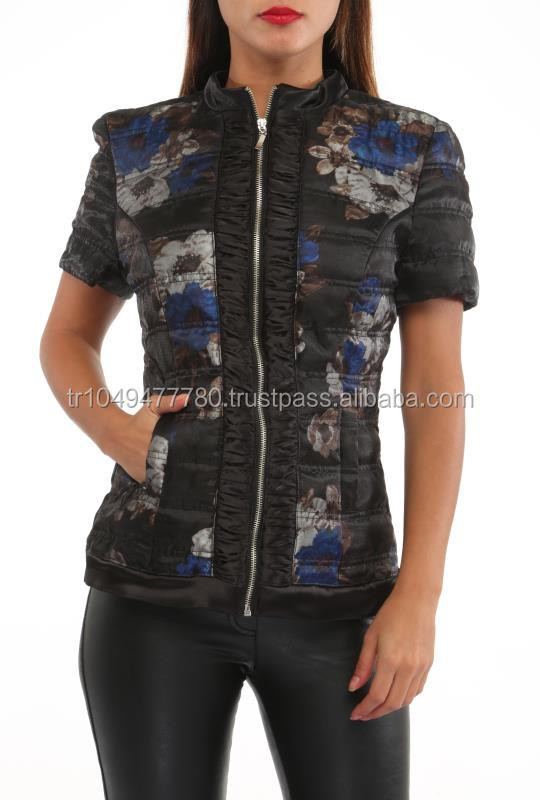wholesale short sleeve women coats