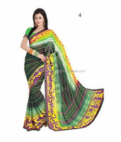 Net sarees with net blouse