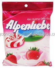 Alpenliebe Candy Strawberry and Cream 40pcs / Wholesale Candy / Fruit Candy