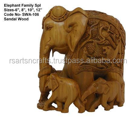 sandalwood elephant/elephant in sandalwood/elephants india