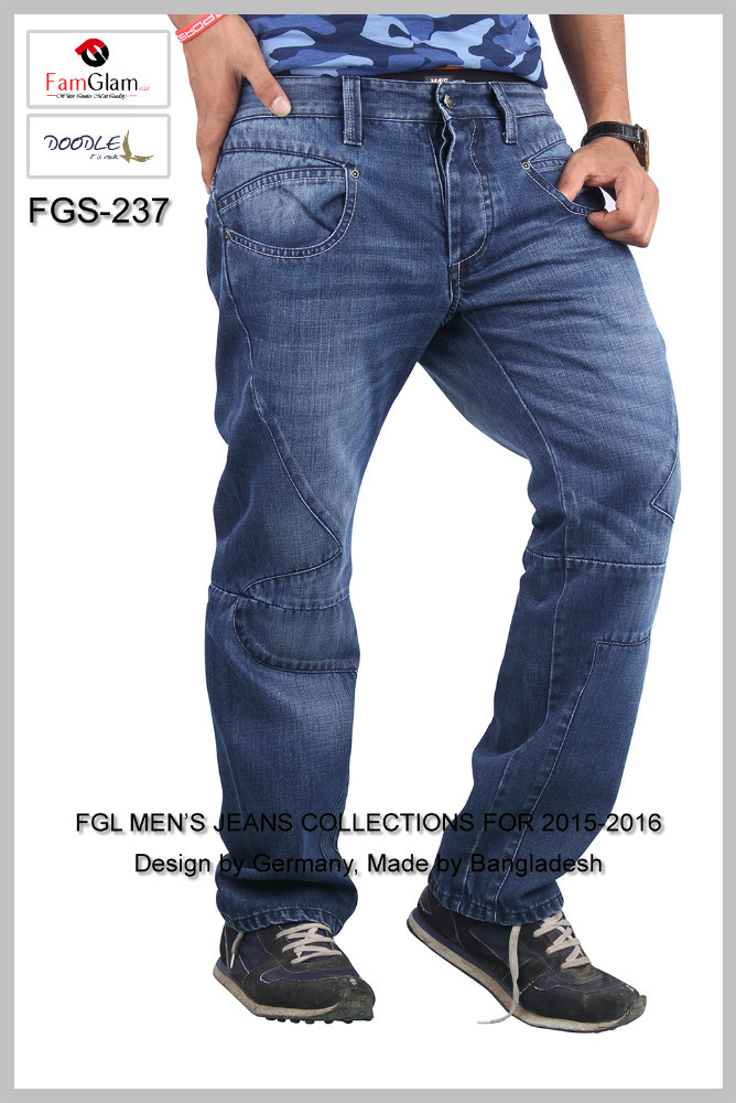 Rock style new man jeans- new style man jeans