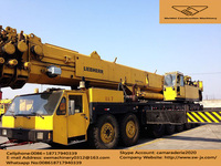 used Liebherr 300T crane for sale in china, swiss made,cheap and good truck crane