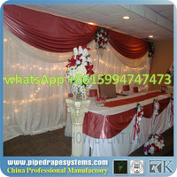 pipe and drape wedding backdrop event decoration balloons