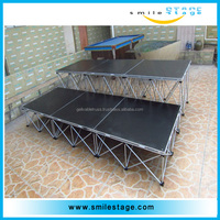 mobile stage truck used portable stage for sale mini laser stage lighting