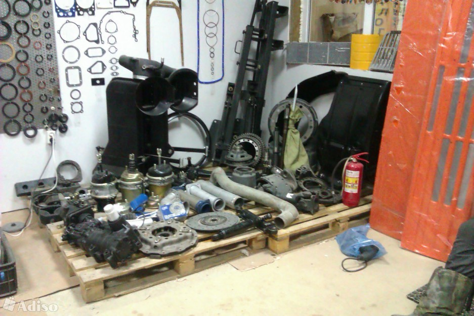 ALL Spare parts for: KAMAZ, ZIL, UAZ, GAZ and MAZ spare parts