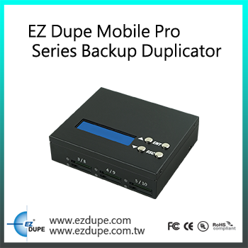 EZ Dupe HD Max 1 to 9 targets port HDD Hard Disk Drive Duplicator