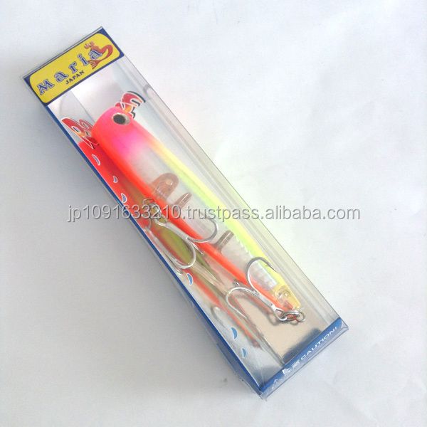 Japanese POP QUEEN popper lure for fishing available in various colors