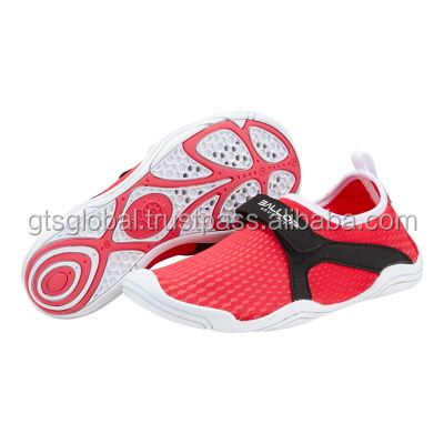 Non-slip Skin Shoes, Aqua Shoes, Water Shoes, Surfing Shoes, Gym Shoes, Beach Shoes---Ballop Typhoon Red